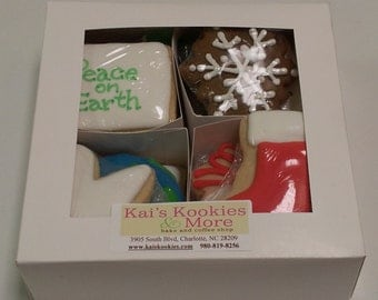 Peace on Earth Boxed Cookie Set