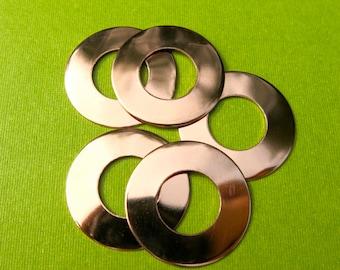 "1"" copper washers 24 gauge"