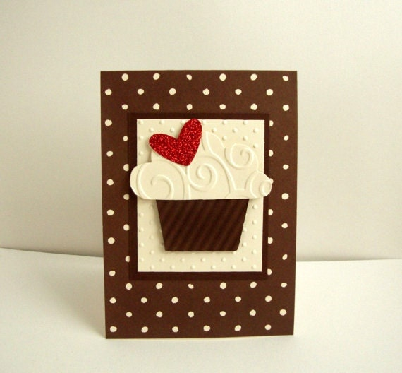Cupcake Birthday Card Chocolate Cupcake Birthday Card – Cupcake Birthday Card