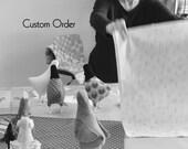 RESERVE listing Custom order handmade hen