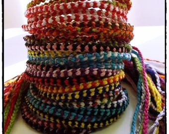 A Lot of 5 or more- Thin Friendship Bracelets