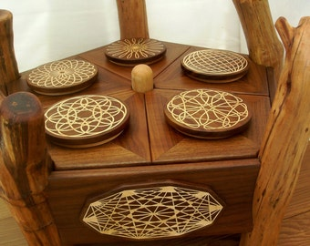 Large Pentagon Twig Jewelry Box