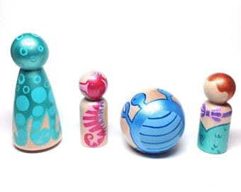the classic collection - sea creatures set