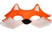 Children's Woodland Animal FOX Felt Mask
