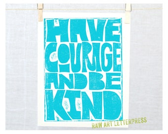 Have Courage, Wall Art, Girls Room Wall Art, Classroom Decor, Back to School, Cubicle Decor, Teen Girls, Country Home Decor