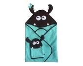 Elinn Moose Hooded Baby Towel