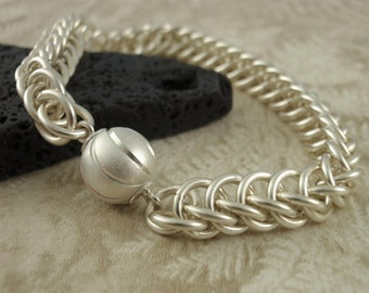 Chainmaille Tutorial PDF  - Half Persian 3-in-1  - Full Color instructions