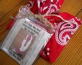 Cowboy Boot Christmas Stocking Kit, 2014 version