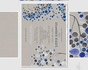 Printable Wedding Invitation Card set - Save the Date, Wedding Invites, rsvp, Thank You Cards - baby bridal shower birthday Invitation Cards
