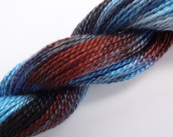 Mineral Hand Dyed Tencel Thread Size 8