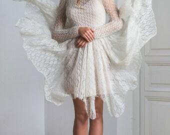 Wedding dress/handmade/ unique