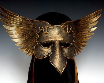 Corvus Half Mask