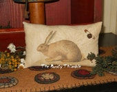 Rabbit Accent Pillow, Bowl Filler