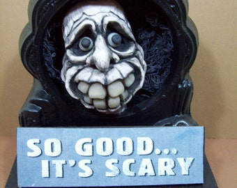 Halloween Ghost Doll So Good Its Scary Halloween Décor Halloween Collectible Original Sculpture Handmade by LLA Creations