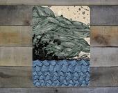 "Ocean and Waves - 5""-7"" Giclée Print"