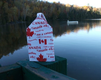 Canada Eh Luggage Tag