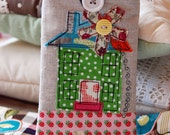 Phone Case with Green Polka Dot House and Little Strawberry Garden.