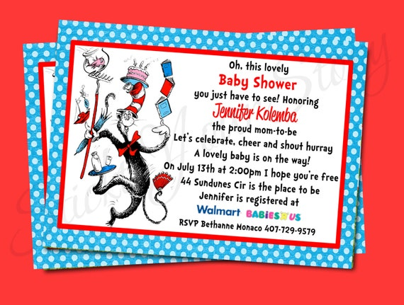 dr seuss invitation baby shower printable stick to your story