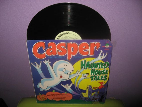 Rare Vinyl Record Casper The Friendly Ghost - Haunted House Tales 1970s Halloween Children's Classic
