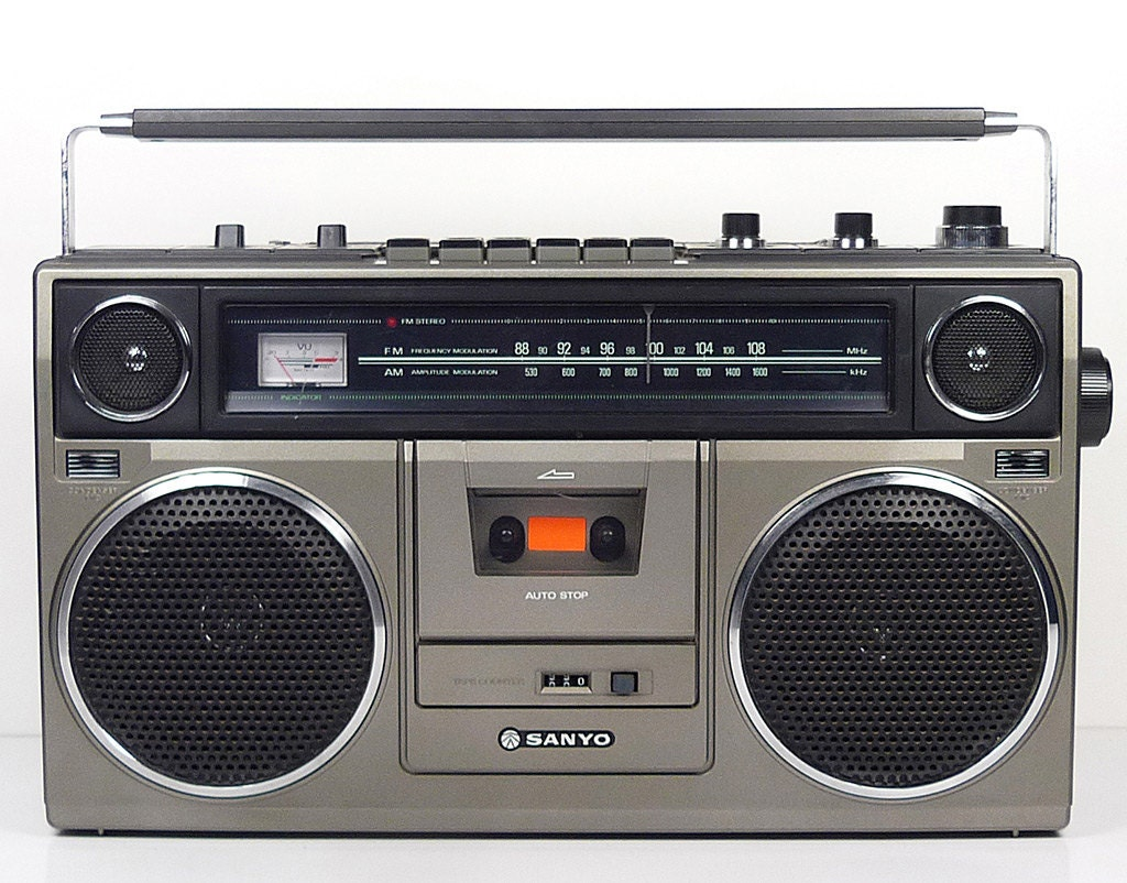 Celebrating Boomboxes, the 'Instant Parties' of the '80s ...  |80s Boombox