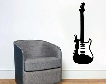 Electric Guitar - Music Wall Decals