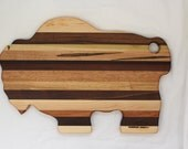 Buffalo Cutting Board - Handmade