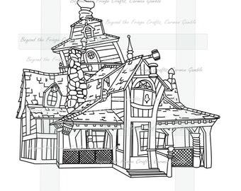Wonky Houses Set