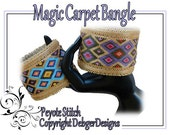 Magic Carpet Bangle - Beading Pattern Tutorial