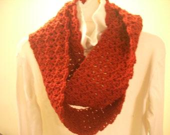 Infinity 1-2-3 scarf-claret