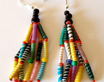 Recycled Flip Flop Earrings