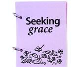 Christian Prayer Journal, Catholic Prayer Journal, Religious Prayer Journal - Seeking God's Grace in lavender fields