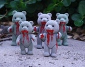 One of a Kind Recycled Zombie Bears