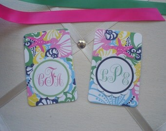 NEW PATTERN LILLY BagTags Luggage Tags Part Three