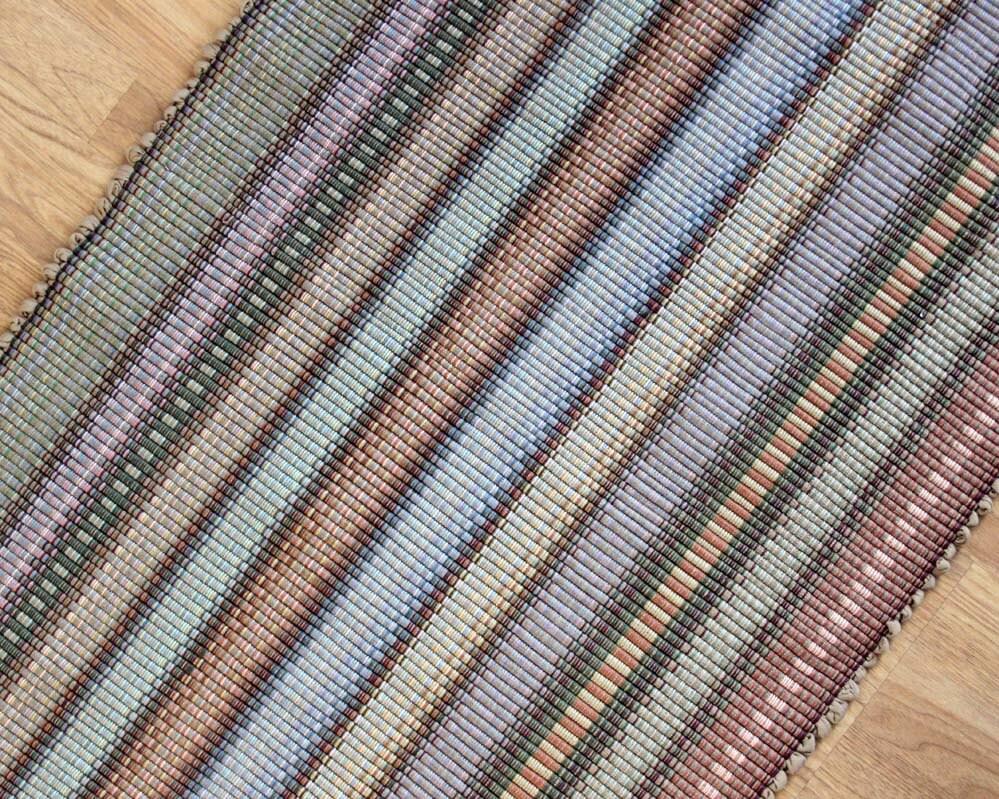 Cotton Rag Rug Kitchen Rug 2 39 X 3 39 Shades Of By Texturesgallery