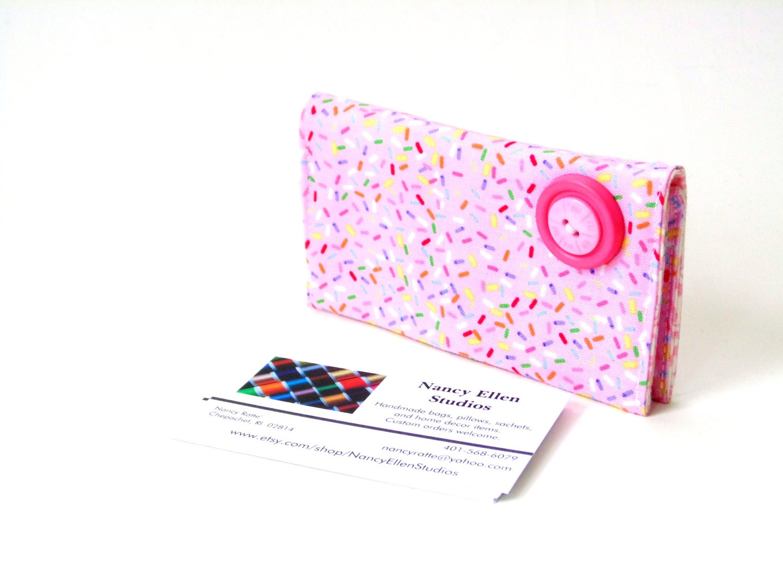 Business card case credit card wallet by NancyEllenStudios ...