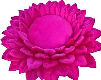 pink pillow-Bridermaid Gift-lotus flower-velvet pillow-handmade-yoga art for bedroom-rustic decor-yoga mat-floor pouf-boho bedroom
