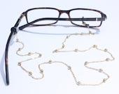 Glasses Chain || Gold