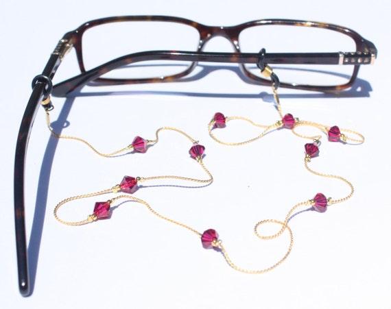 Glasses Chain || Ruby
