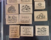 Stampin up loads of love accessories set of 12 stamps