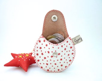 Leather Coin Purse / The Mini Gypsy Change Purse / Ready to Ship US / Made to Order International