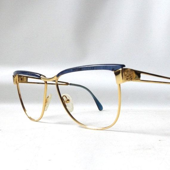 vintage 1960s NOS cat eye eyeglasses giorgio beverly