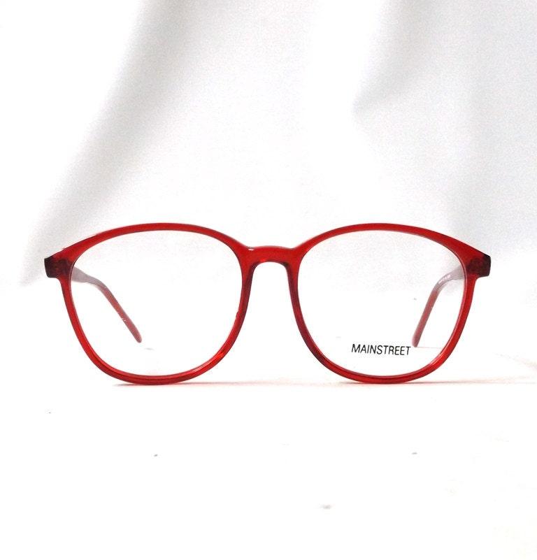 vintage 1980 s nos eyeglasses oversized cherry