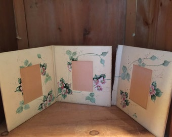Vintage Hand painted frame - As Is