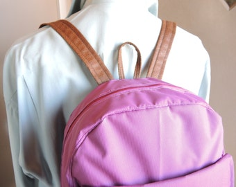 Plum Backpack, Bags and Purses, Tote, Embroidered