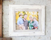 Uber Distressed Whitewash Frame