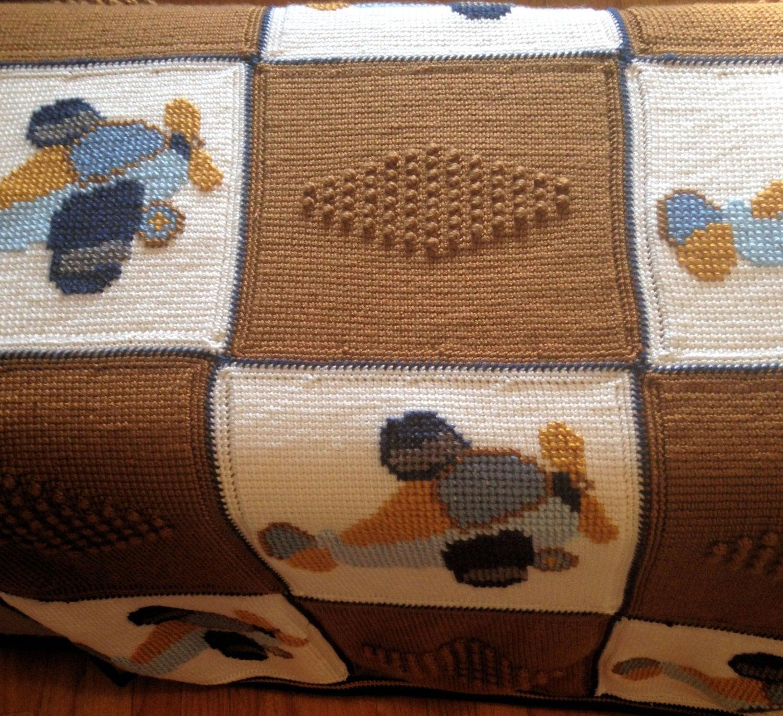 Crochet Baby Blanket Baby Blanket Crochet Airplane Baby