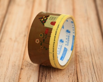 cute cartoon Good Mail wide deco tape