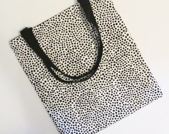Marimekko canvas tote, large Marimekko bag, laptop tote in Pirput Parput canvas, heavy canvas from Finland,  FREE SHIPPING, Canada and US