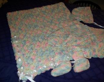 Multi Colored Pastel Layette