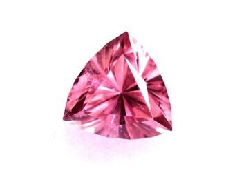 Pink Tourmaline 5.6mm Trillion Cut .60ct Grade A